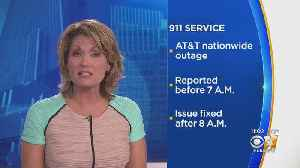 Issue Resolved After Nationwide AT&T Outage Affected 911 Calls In North Texas [Video]