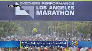 70-Year-Old LA Marathon Runner Disqualified For Cheating On Record-Setting Run [Video]