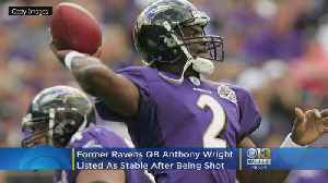 Former Ravens QB Anthony Wright Shot In North Carolina After Argument With Girlfriend's Ex-Boyfriend [Video]
