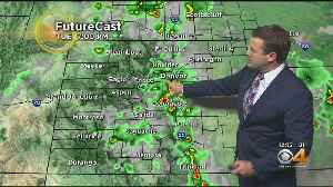 More Storms Today, Lower Rain Chances Tomorrow [Video]