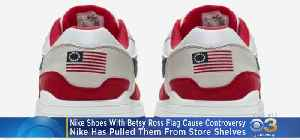 Nike Pulls Sneakers Featuring Betsy Ross Flag Ahead Of Fourth Of July [Video]