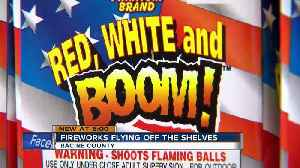 Fireworks flying off shelves in Racine County [Video]