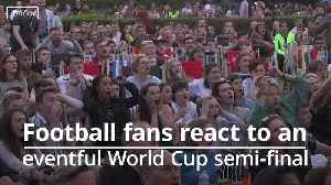 Football fans react to ups and downs of England Women's World Cup semi-final defeat [Video]