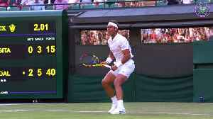 Wimbledon day two: Federer, Nadal and Williams kick off their campaigns [Video]