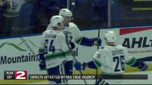 Comets see familiar faces depart as NHL free agency begins [Video]