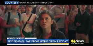 Spider-Man: Far From Home Opens Today! [Video]