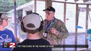 Putting guns in the hands of kids [Video]