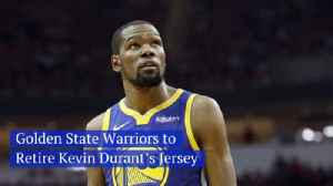The Golden State Warriors Honor Kevin Durant [Video]