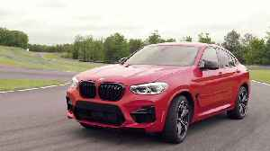 The new BMW X4 M Exterior Design in New York, USA [Video]