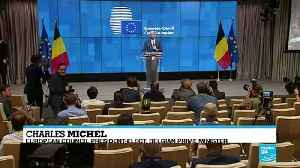 Belgian PM Charles Michel to be next president of EU Council [Video]