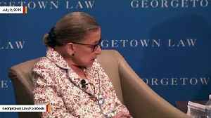Ruth Bader Ginsburg Praises Brett Kavanaugh [Video]