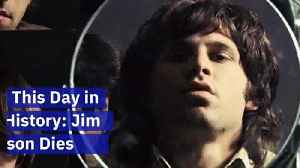 This Day in History: Jim Morrison Dies [Video]