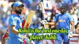 World Cup 2019 | Rohit is the 'best one-day player': Kohli [Video]