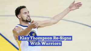 Klay Thompson Gets A Sweet Deal With The Golden State Warriors [Video]
