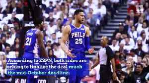 Ben Simmons to Sign Max Deal With 76ers [Video]