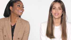 Jessica Alba and Gabrielle Union play 'How Well Do you Know Your Co-Star?' [Video]