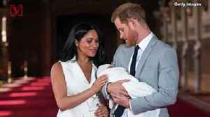The Duke and Duchess of Sussex Decide to Keep Archie's Godparents Private [Video]