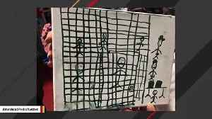 Here Are Heartbreaking Drawings From Children Detained At Border Facility [Video]