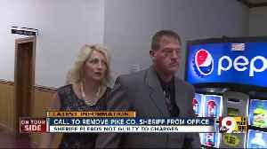 Pike Co. sheriff pleads not guilty, facing calls for removal [Video]