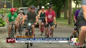Cyclists hope to set up lanes in Newport [Video]
