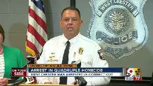 Victim's husband charged with four counts of aggravated murder in West Chester quadruple homicide [Video]