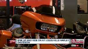 Loess Hill Harley Davidson Reopening [Video]