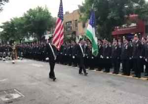 NYPD Officers Pay Respects at Funeral of 9/11 First Responder Luis Alvarez [Video]