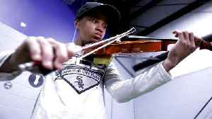 Hearing Impairment Not Stopping 12 Year-Old Elite Baseball/Violin Player [Video]