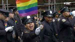 New York's LGBTQ Group GOAL Proudly Patrolling [Video]