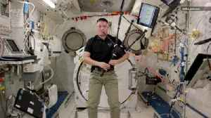Watch NASA Astronaut Play 'Amazing Grace' on the Bagpipes [Video]
