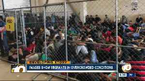 Images show migrants in overcrowded conditions [Video]