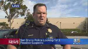 San Bruno Police And Fire Chiefs Provide Details On Tanforan Mall Shooting And Suspect Search [Video]