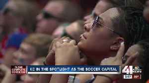 News video: Fans at Power and Light celebrate as USWNT reaches Women's World Cup final