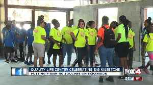 Quality Life Center puts finishing touches on expansion [Video]
