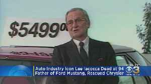Auto Industry Icon Lee Iacocca Dead At 94 [Video]