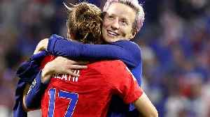 News video: England out of Women's World Cup as USA squeeze through 2-1