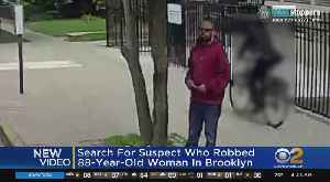 New Video Of Man Accused Of Mugging Elderly Woman [Video]