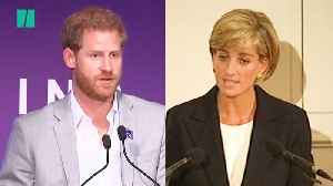 Harry Honours Diana's Legacy At Youth Mentoring Event [Video]
