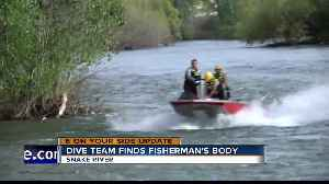 Dive team finds missing fisherman's body in the Snake River [Video]