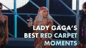 Lady Gaga's best red carpet moments [Video]