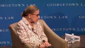 Ruth Bader Ginsburg Shares Her Marriage 'Secret' [Video]