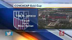 CONCACAF Gold Cup semifinal game in Nashville [Video]