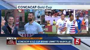 Nashville celebrating soccer during 4th of July events [Video]