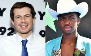 Pete Buttigieg Praises Lil Nas X for Coming out as Gay [Video]