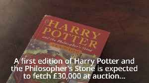 Rare Harry Potter first edition up for auction [Video]