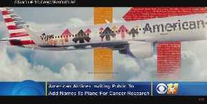 American Airlines Inviting Public To Add Names To Plane For Cancer Research [Video]
