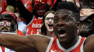 PISSED Rockets Fan TRASH Clint Capela's Car After LOSS To Warriors In Playoffs [Video]