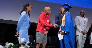Pharrell Williams Promises Internships to 2019 Graduates of Harlem Charter School [Video]