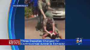 Broward Sheriff's Deputies Involved In Rough Arrest Of Tamarac Teen Charged [Video]