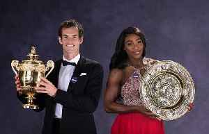 News video: Serena Williams and Andy Murray Team up for Mixed Doubles Competition